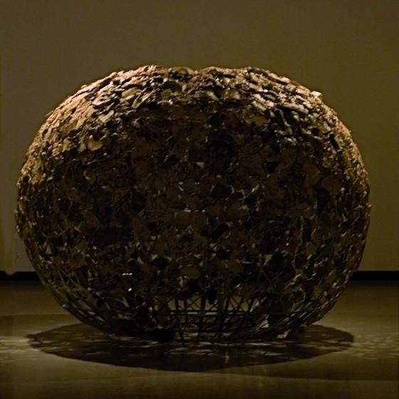 Le Canari 2009 - Instalacion - Ceramica sobre estructura de galvanizado - 210x250cm
