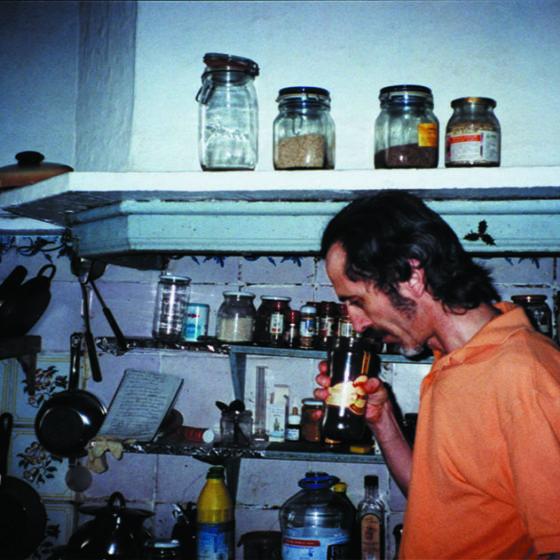 Pere Lluís Plà antes de la filmación de Aprensión y esoterismo
