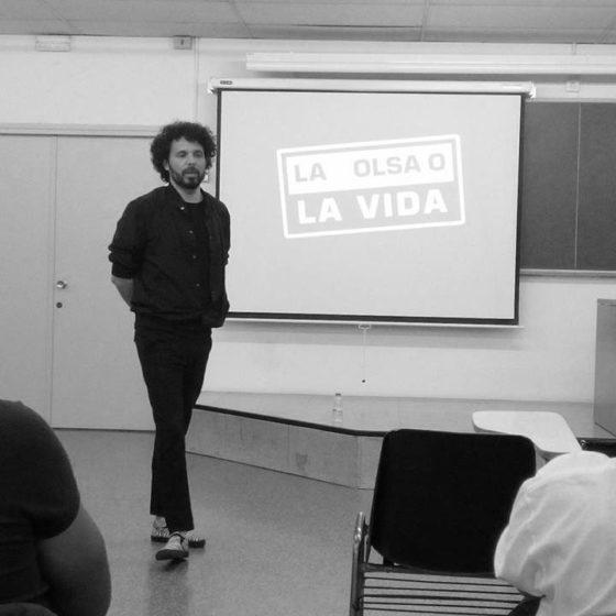 Colectivo Enmedio a la Universitat de Barcelona