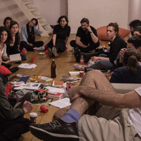 Sábado 16 de abril, Espai Pràctic. Barcelona, 2016. BAR Project.